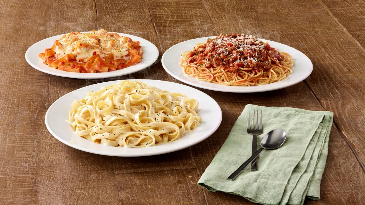 Olive Garden $5 take-home entrees