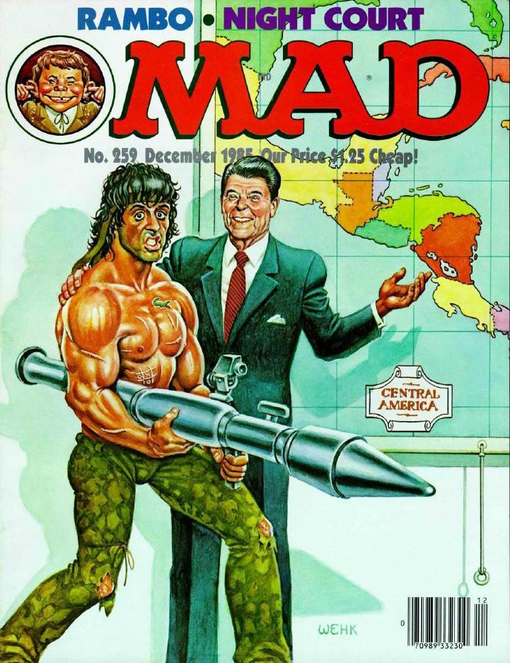 rambo mad magazine cover