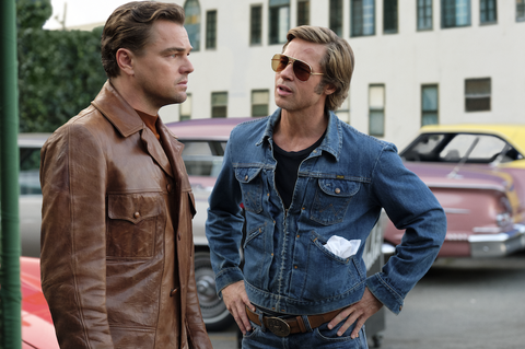 Rick Dalton and Cliff Booth Once Upon a Time in Hollywood