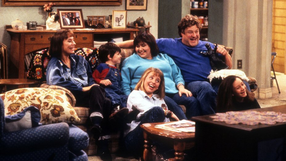 roseanne cast couch