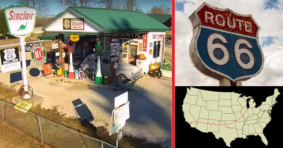 Most Amazing Views of Route 66 – An Aerial Documentary