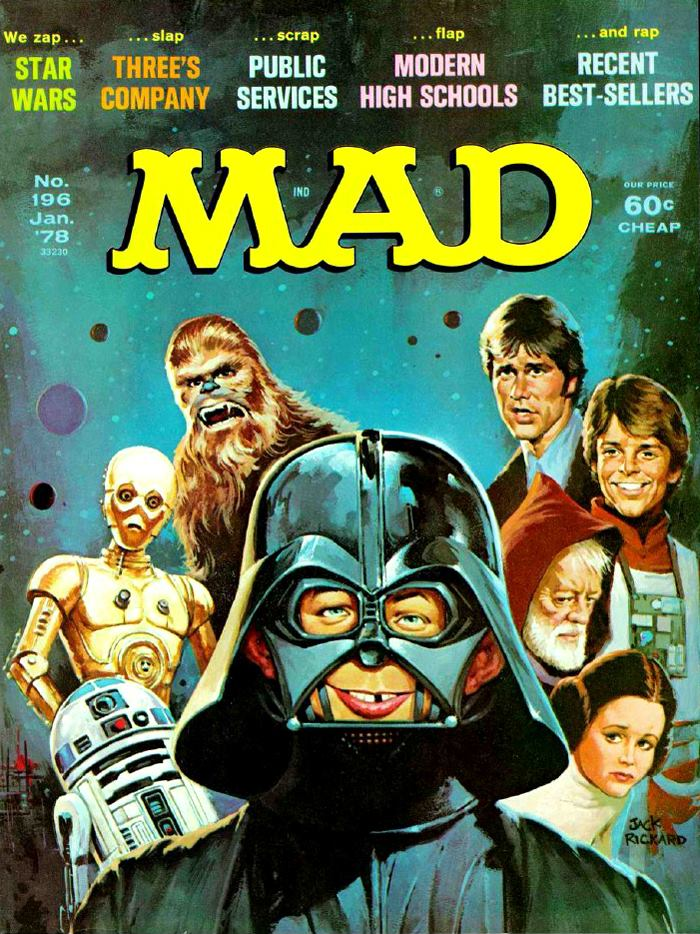 star wars mad magazine cover