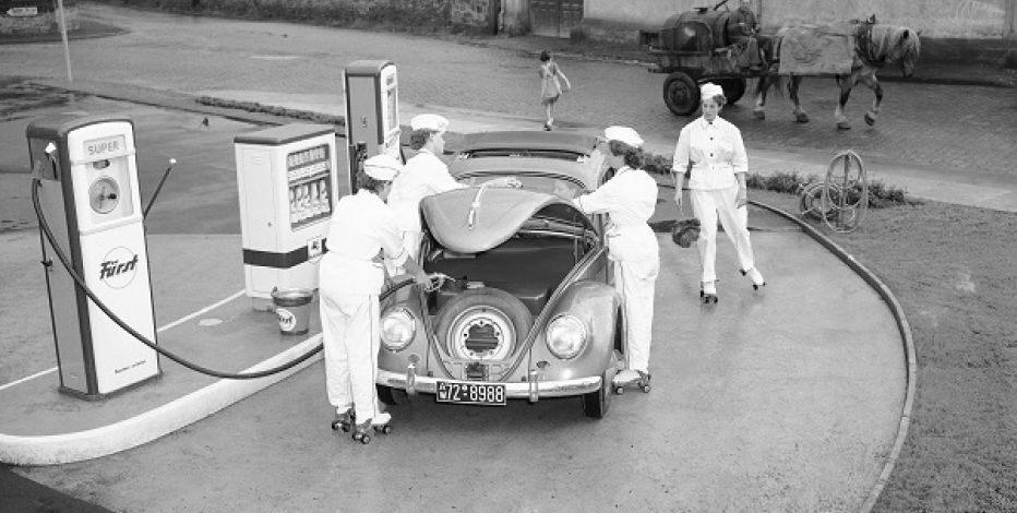 Volkswagen Beetle in 1950s