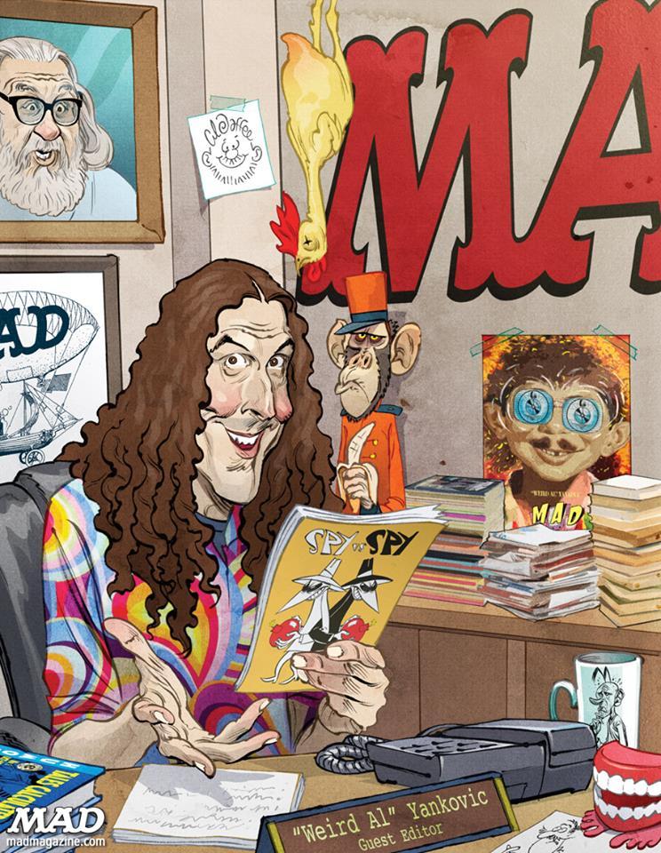 weird al yankovic mad magazine