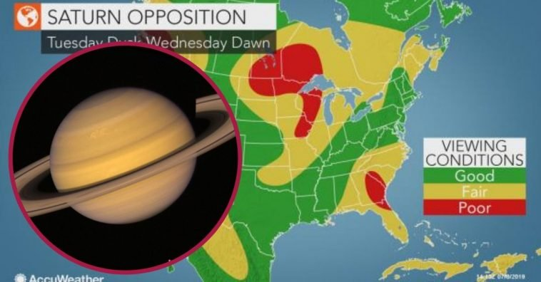 you can see saturn tonight with naked eye