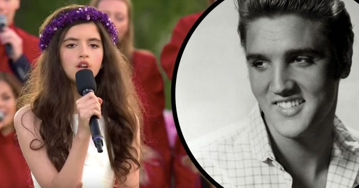 11-Year-Old Girl Singing Elvis Tune Sounds Just Like The King Himself