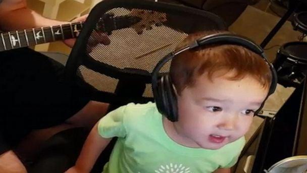 2 year old boy sings Elvis perfectly