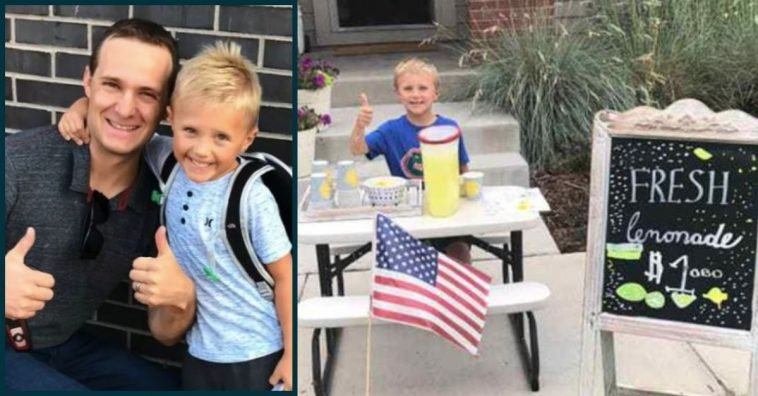 6-Year-Old Uses Money From Lemonade Stand To Take Mom Out On Date After Dad Passes Away