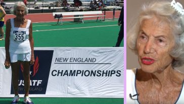 91-Year-Old Diane Hoffman Breaks USA Track & Field World Running Record