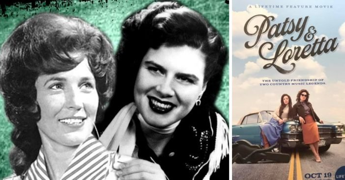 A Lifetime movie about Patsy Cline and Loretta Lynns friendship is coming out in October