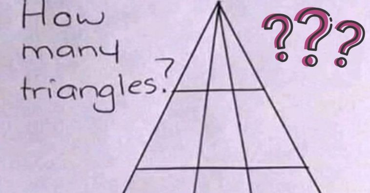 Can You Guess How Many Triangles Are In This Photo_