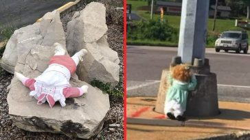 Creepy dolls are popping up in random places in Missouri