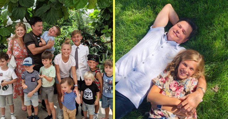 Donny Osmond shares photos of his grandkids