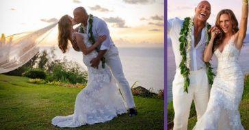 Dwayne 'The Rock' Johnson Just Married Lauren Hashian In Hawaii