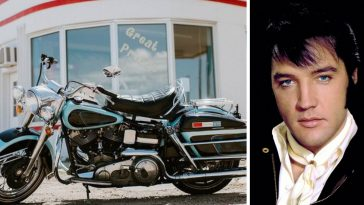 Elvis Presleys Harley Davidson motorcycle is going up for auction