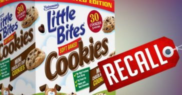 Entenmann's Little Bites Soft Baked Cookies Recalled Due To Blue Plastic Contamination