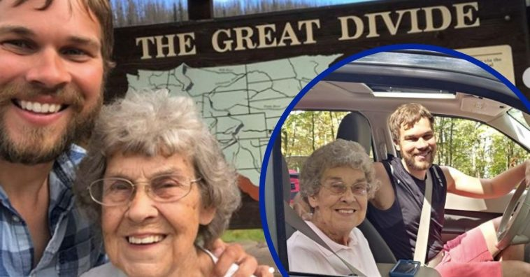 Grandson Is Taking 89-Year-Old Grandma To Every National Park In The U.S.