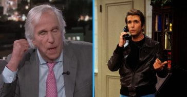 Henry Winkler shares a story of how he saved a fans life while on the set of Happy Days