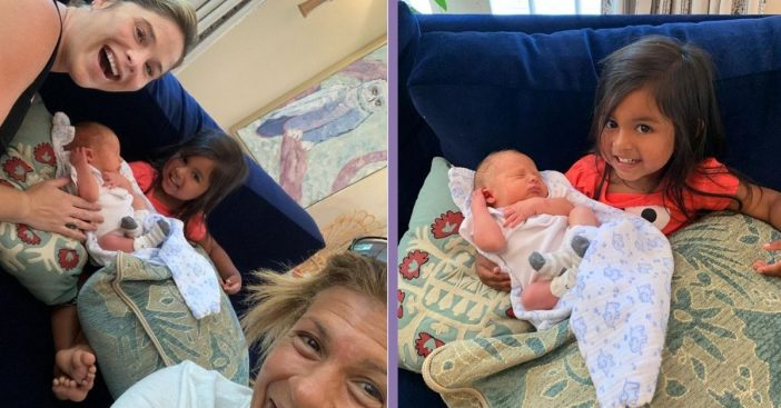 Hoda Kotb's 2-Year-Old Daughter Meets Jenna Bush Hager's Newborn Son