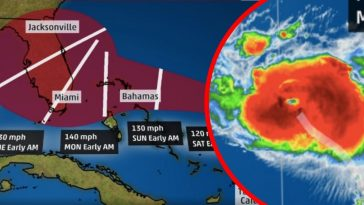 Hurricane Dorian Expected To Hit Florida As Major Category 4 Storm