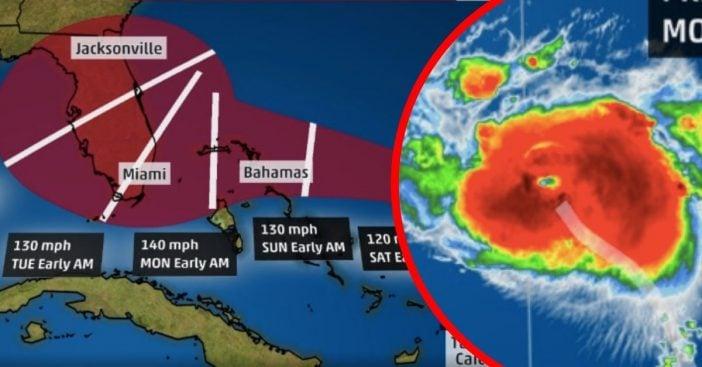 Hurricane Dorian Expected To Hit Florida As Major Category 4 Storm