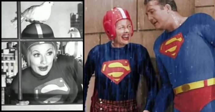'I Love Lucy' Meeting Superman In Remastered Color Is As Cool Yet Bizarre As When It First Aired