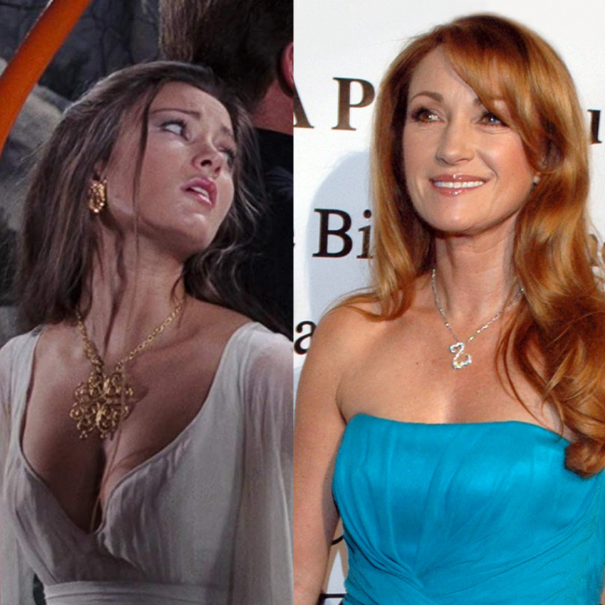 Jane Seymour in Live and Let Die and also more recently.