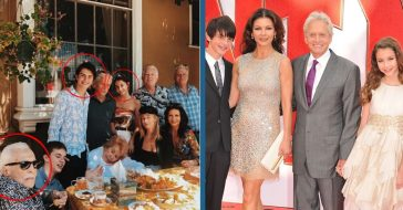 Michael Douglas' Kids, Dylan & Carys, Look All Grown Up In Family Photo With Kirk Douglas