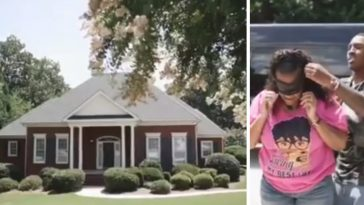 NFL player surprises his parents with a new home