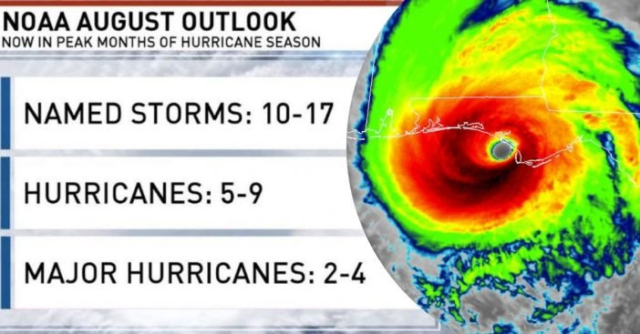 New Atlantic Hurricane Forecast Predicts 14 More Tropical Storms Still To Come