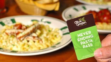 Olive Garden introduced a lifetime pasta pass