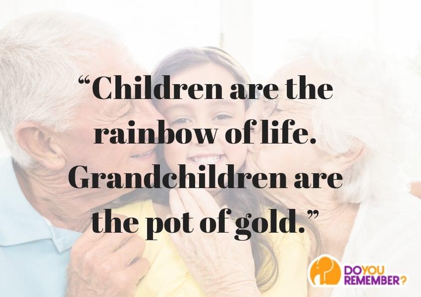 pot of gold grandparent quote
