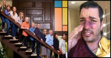 'Property Brothers' Star Jonathan Scott Shows Off _Broken Nose_ From 'A Very Brady Renovation' Promo