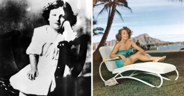 Rare photos of actress Joan Crawford over the years