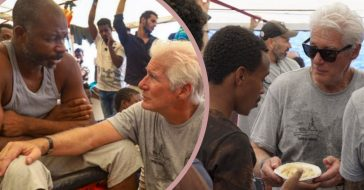 Richard Gere Pauses Italy Vacation And Embarks On Humanitarian Mission