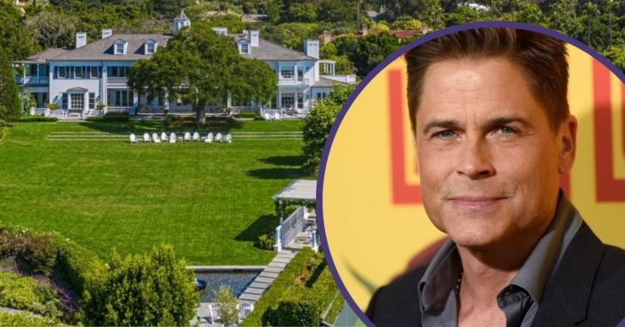 Rob Lowe Is Selling His Massive Mansion For $42.5 Million — See The Stunning Photos
