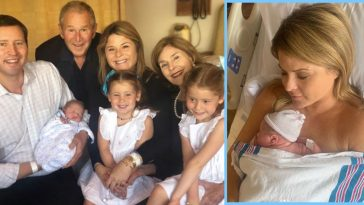 See All The Adorable Photos Of Jenna Bush Hager's Newborn Son