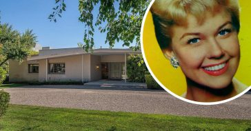 The former Beverly Hills home of Doris Day is up for sale
