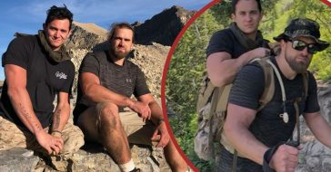 Veteran Carries Fellow Marine Up A Mountain After He Lost His Legs In Afghanistan