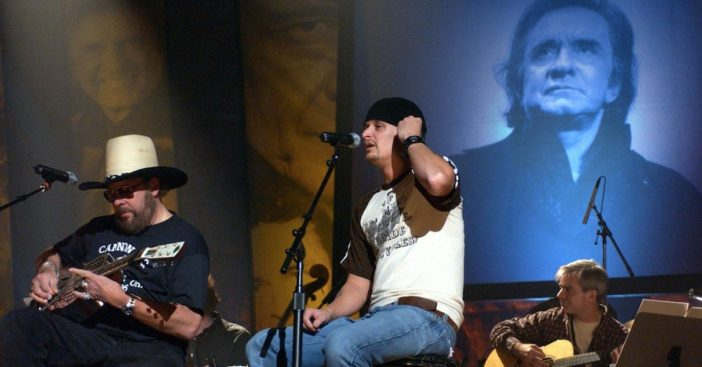 Watch Hank Williams Jr. And Kid Rock Pay Tribute To Johnny Cash With Incredible Performance
