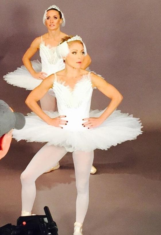 kelly ripa ballerina