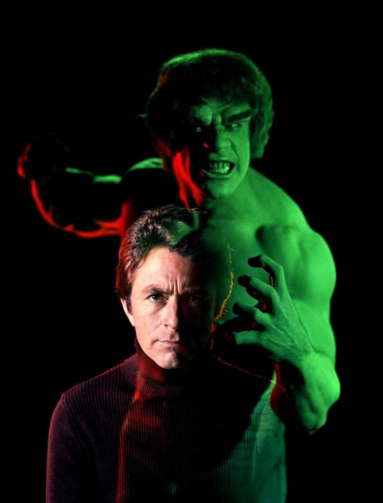 bill bixby the incredible hulk