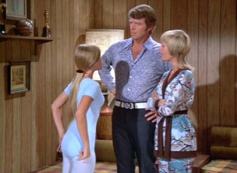 Maureen, Robert, and Florence Henderson