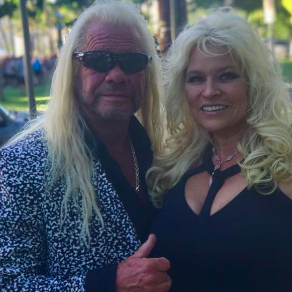 dog and beth chapman