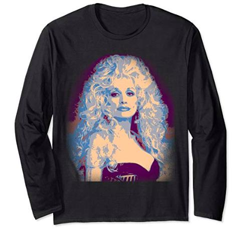 Dolly Parton long-sleeve
