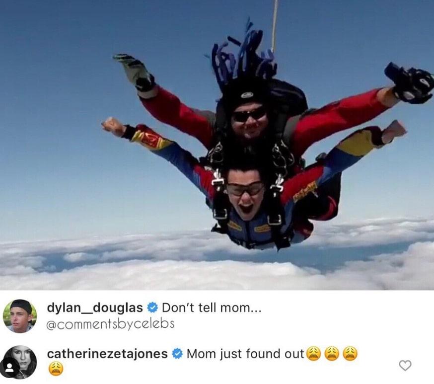 dylan douglas skydiving