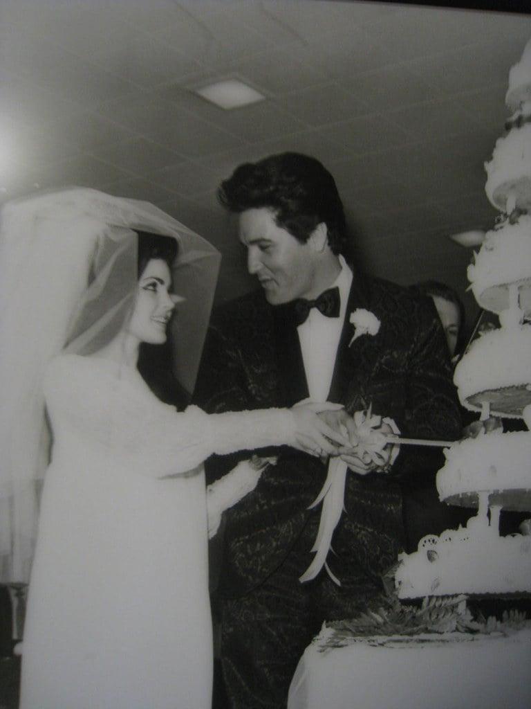 elvis and priscilla presley wedding