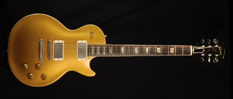 gold topped guitar layla
