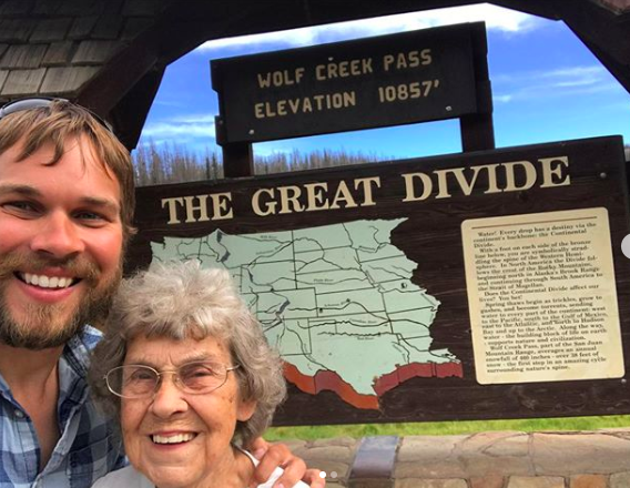 grandson takes grandma to all national parks
