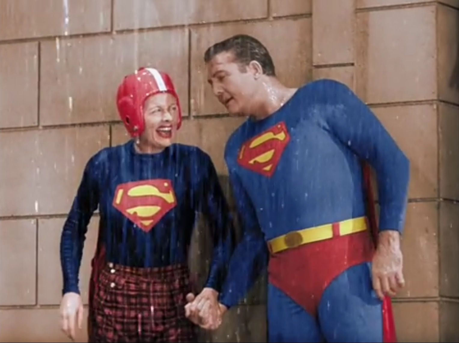 i love lucy and superman